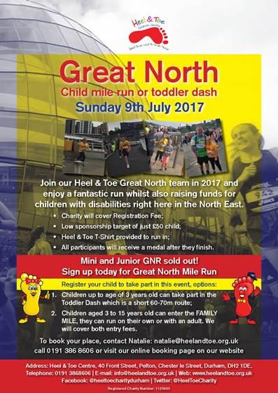 Great North Family Run