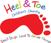 Heel & Toe Childrens Charity Retina Logo