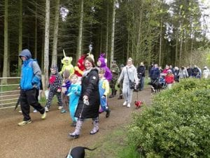 Sponsored Onesie Walk