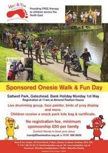 Sponsored Onesie Walk