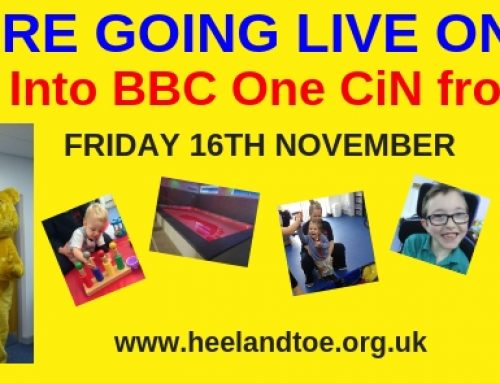 LIVE on BBC TV This Friday