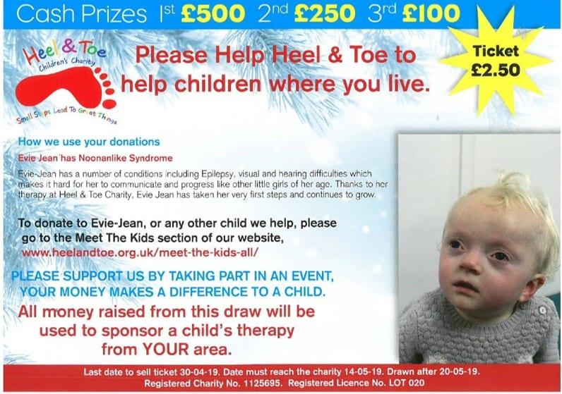 Prize Draw Ticket